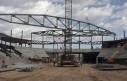 1st truss hung