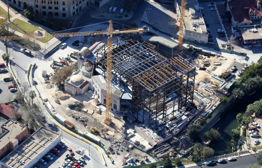 SanAntonio-Steel-Erection_Tobin-Center_1