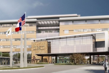 Hospital-Steel-Project_Fort-Hood-Carl-Darnall_Bosworth-Steel-Erectors_HKS_1