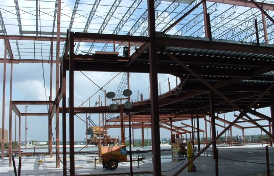 Texas-Steel-Erection_Valley-View-Mall_1